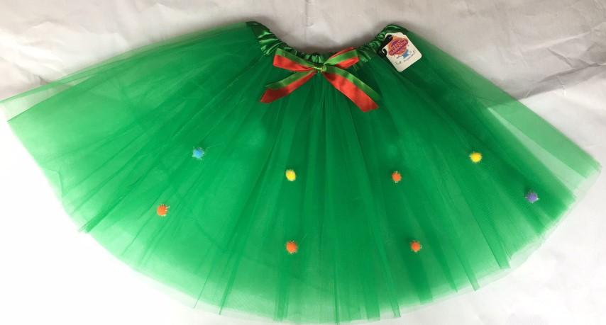 Tutu kerst groen one size