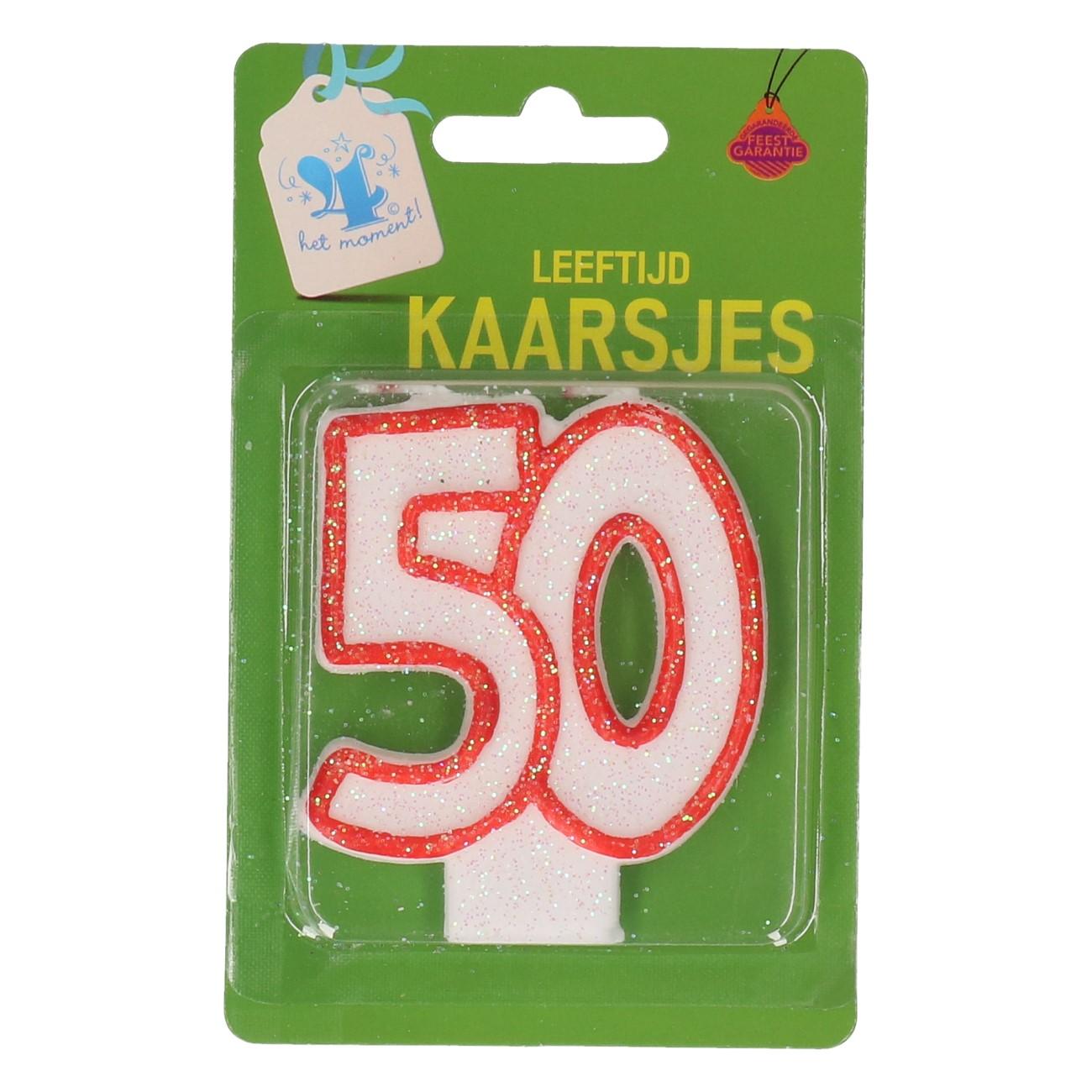 Verjaardagskaars 50