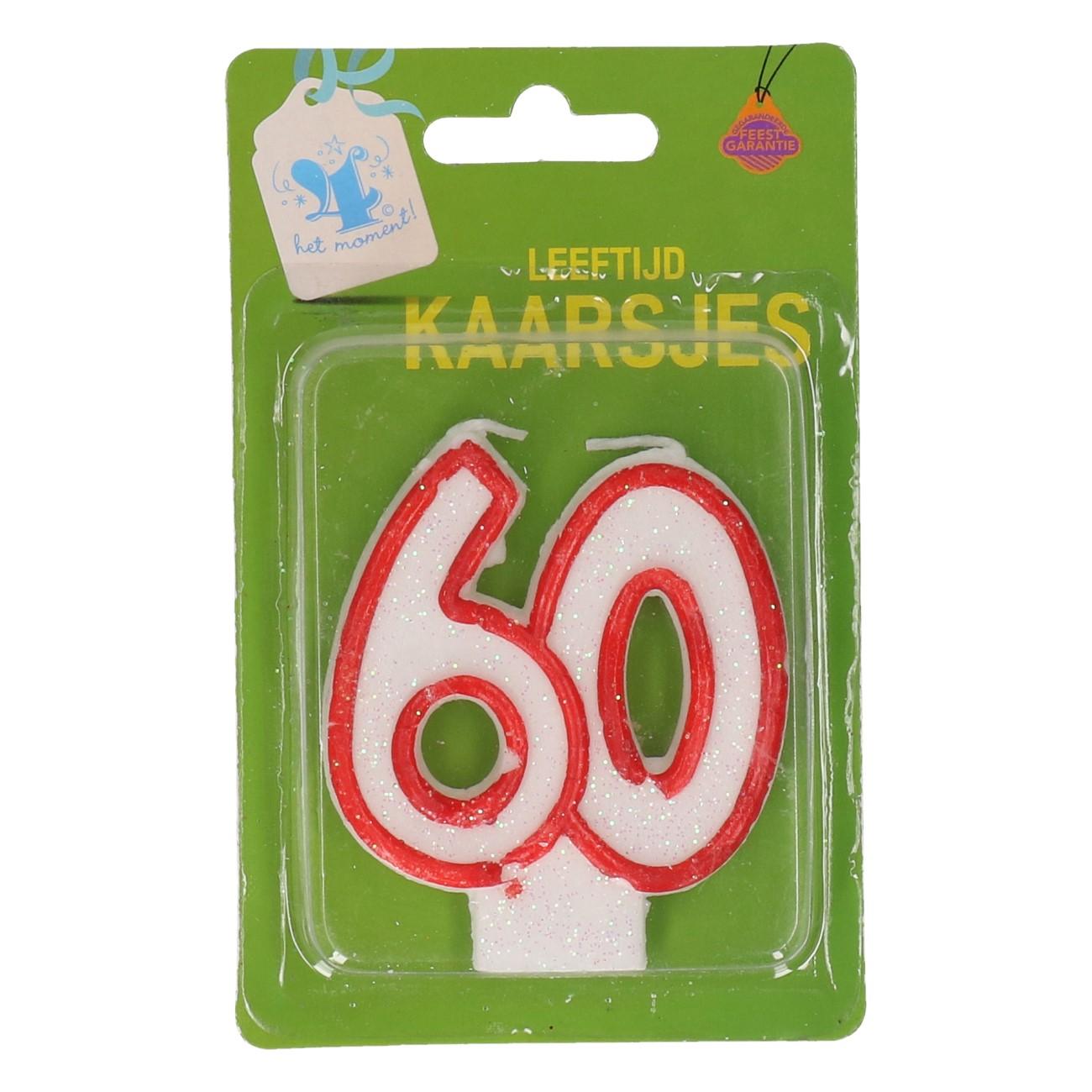 Verjaardagskaars 60