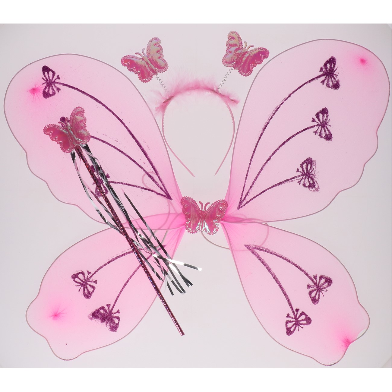 Verkleed set vlinder