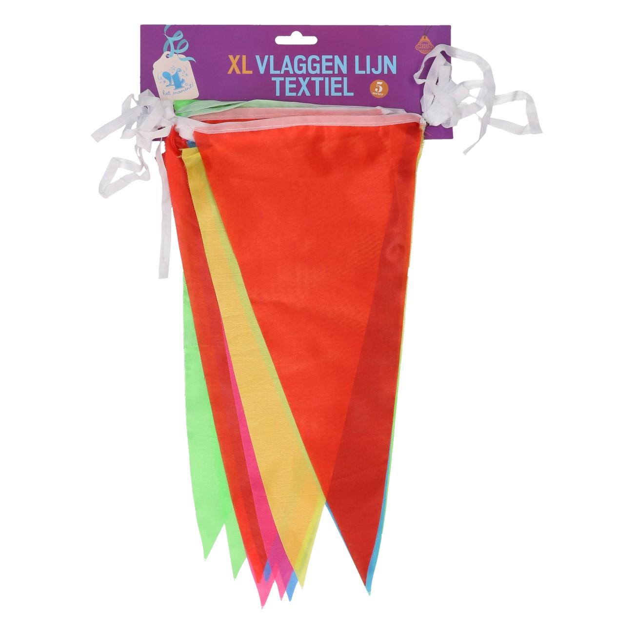 Vlaggen lijn textiel XL