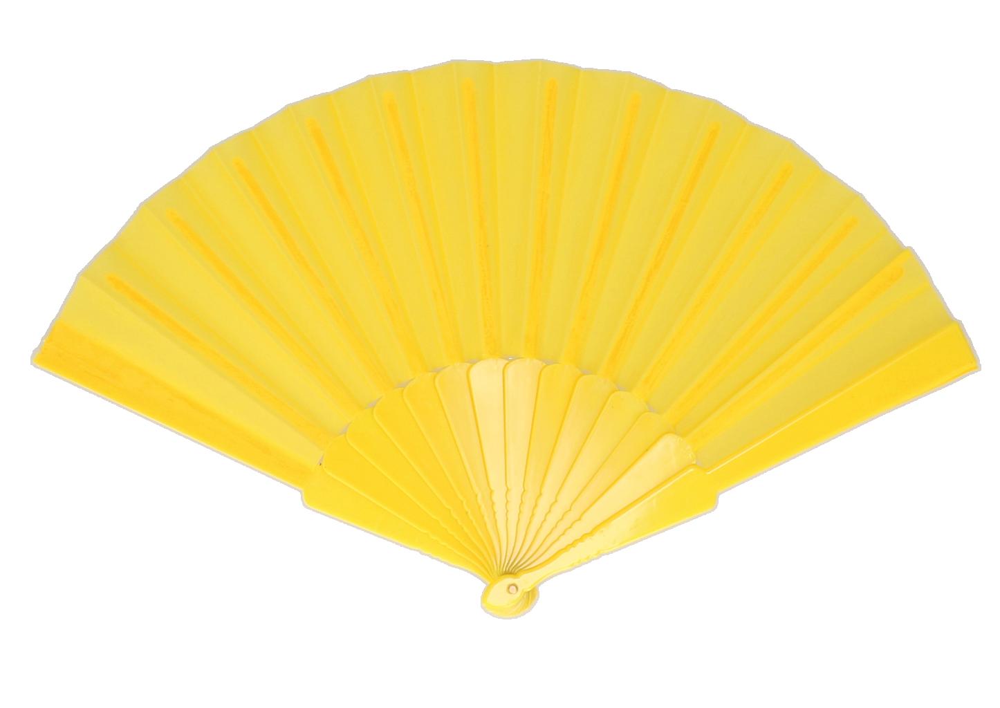 Waaier neon geel