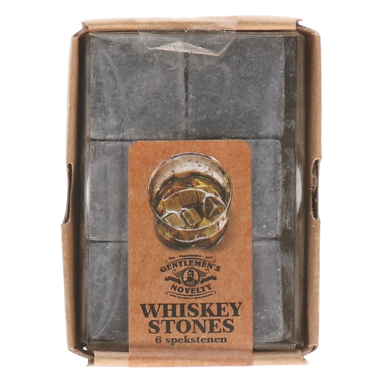 Whiskey stones 6 stuks