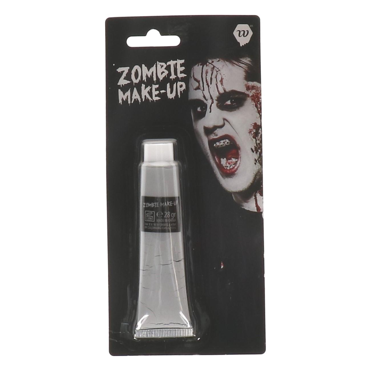Zombie Make-up Grijs Wauwfactor