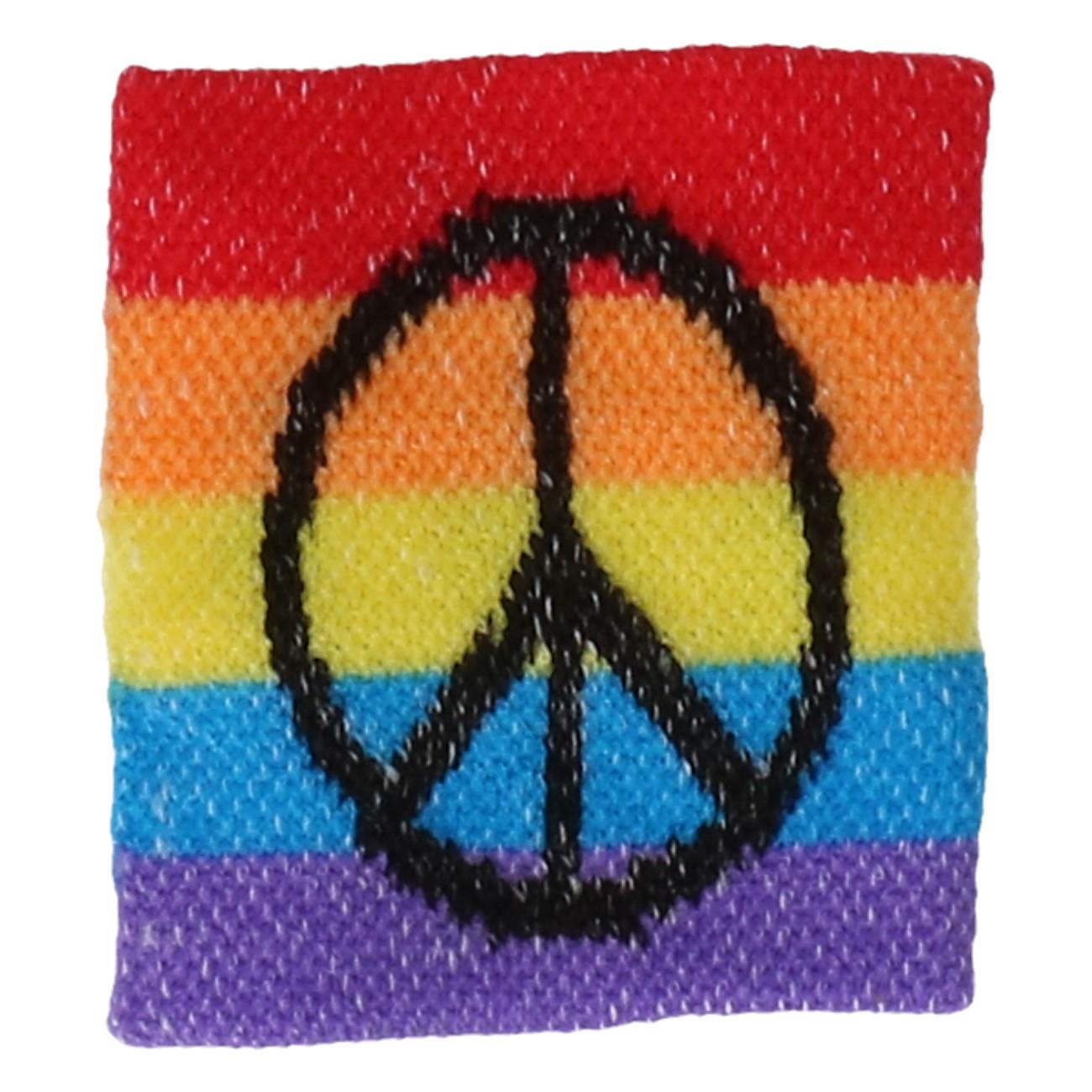 Zweetbandje rasta of peace