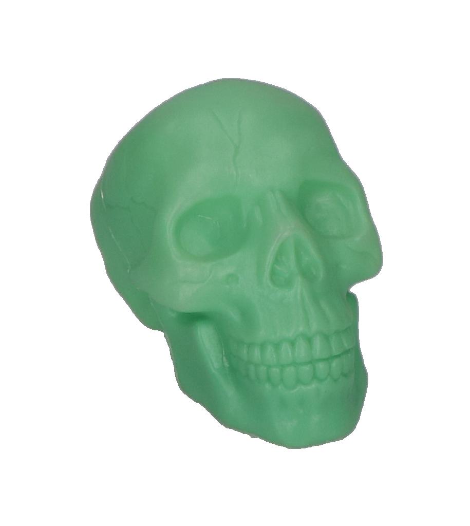 skull decoratie klein glow in the dark