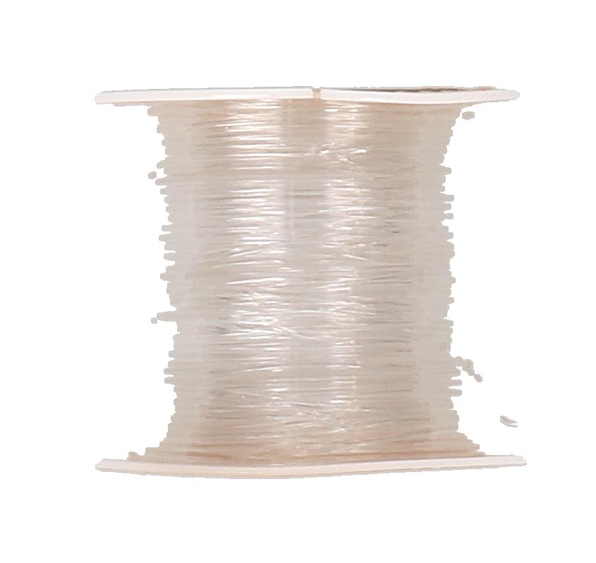 Sieraden koord elastiek transparant sk.039