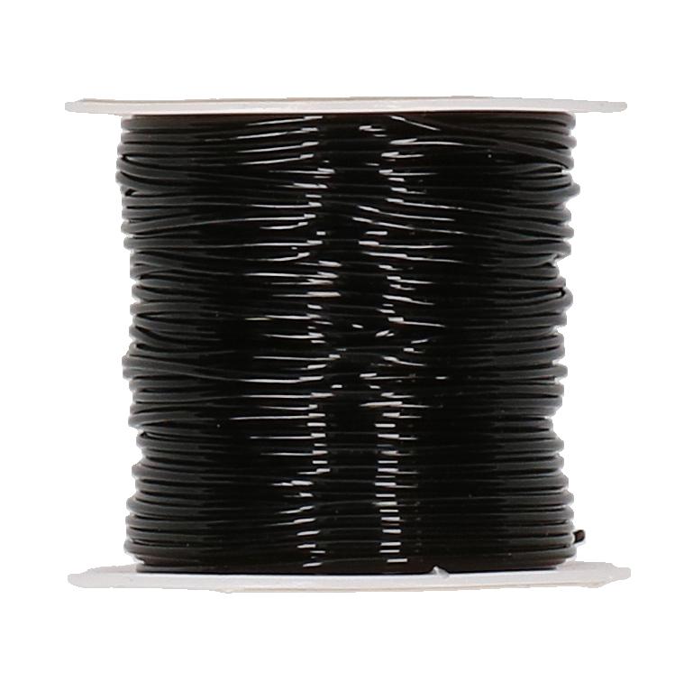 Sieraden koord elastiek zwart sk,046