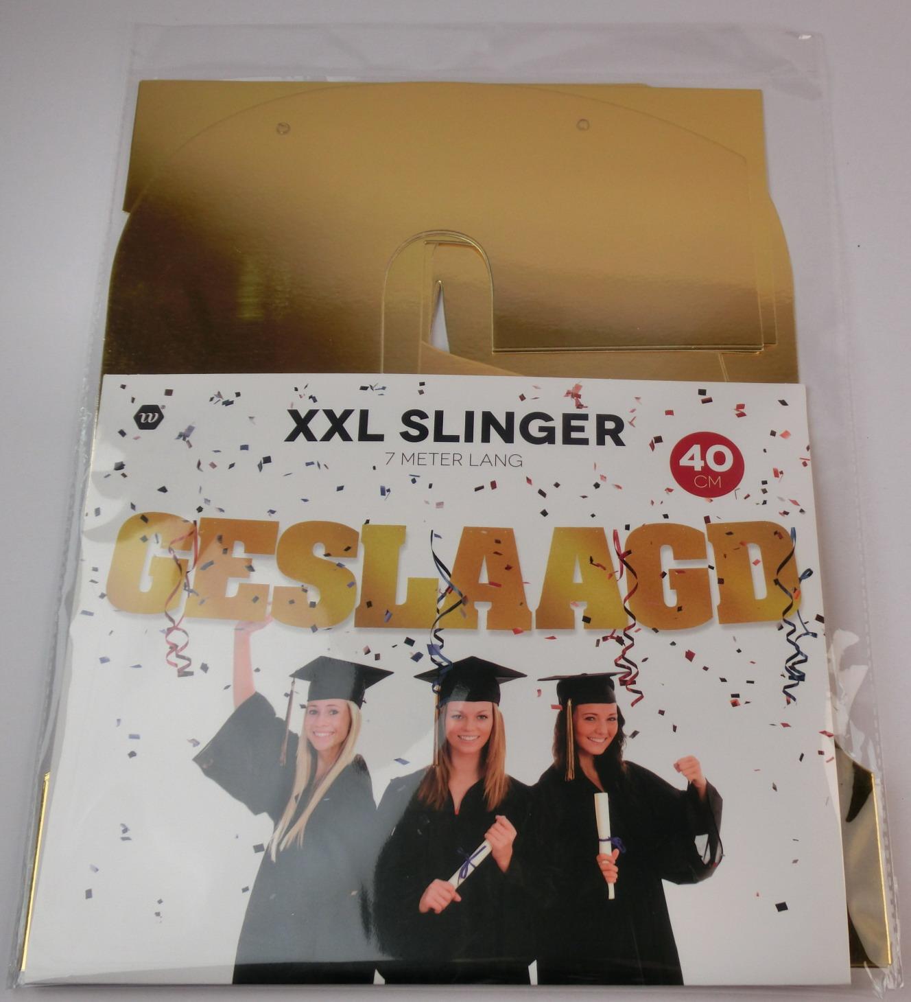 Slinger geslaagd XXL 40cm