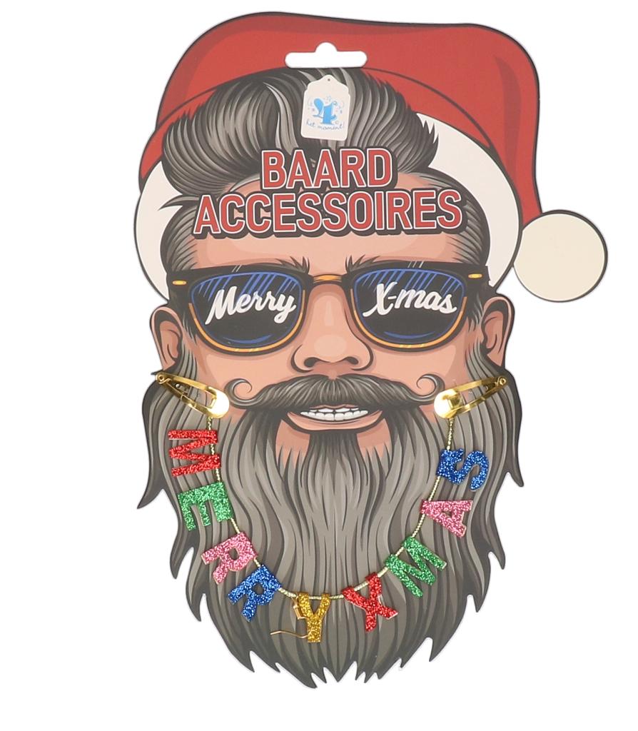 "Baardaccessoires ""merry x-mas slinger"""
