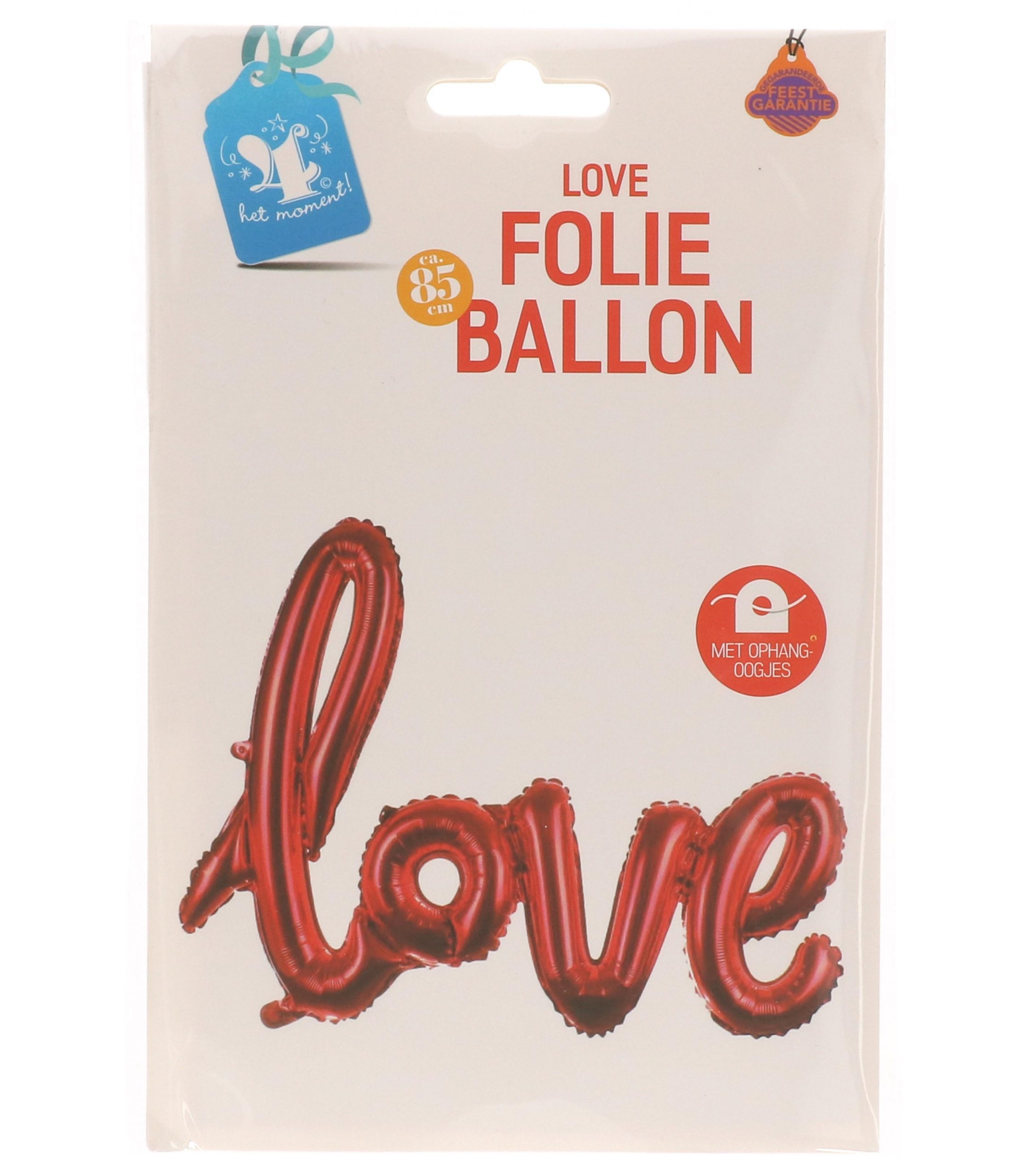 Folieballon love