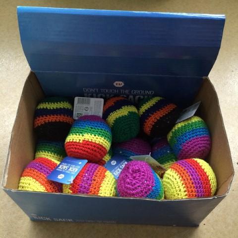 Kick sack multi color