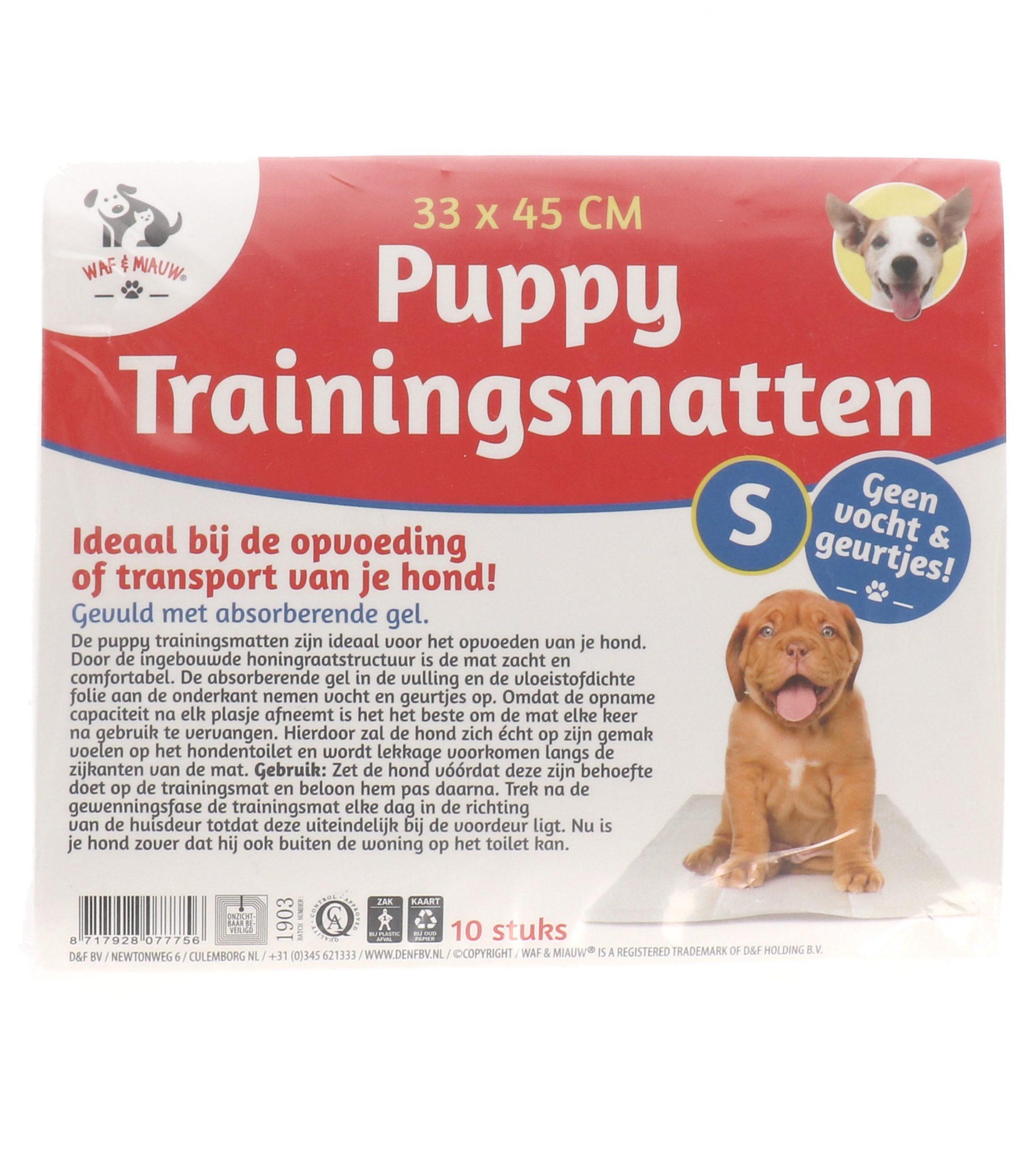 Puppy trainingsmat 10 stuks 33x45