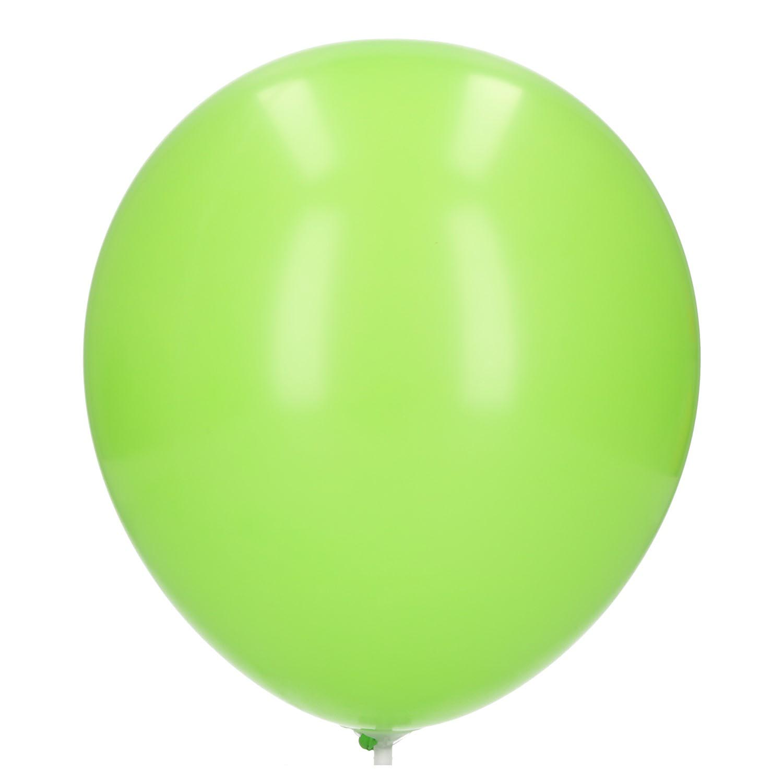 Ballonnen limoen groen 20 stuks