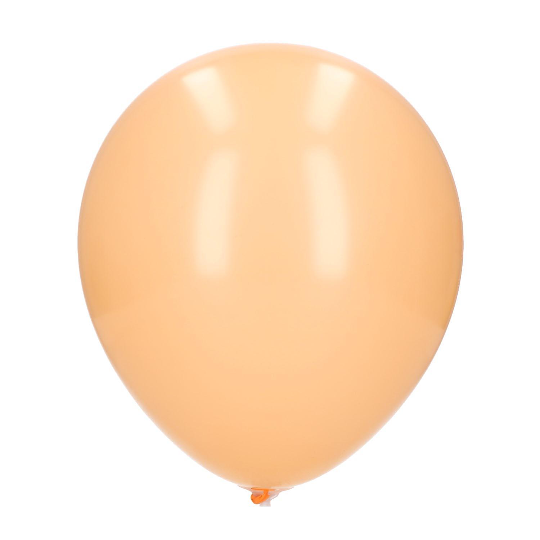 Ballonnen perzik 20 stuks