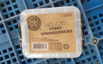 Hobby opbergdoos 3 lades (HO.435)