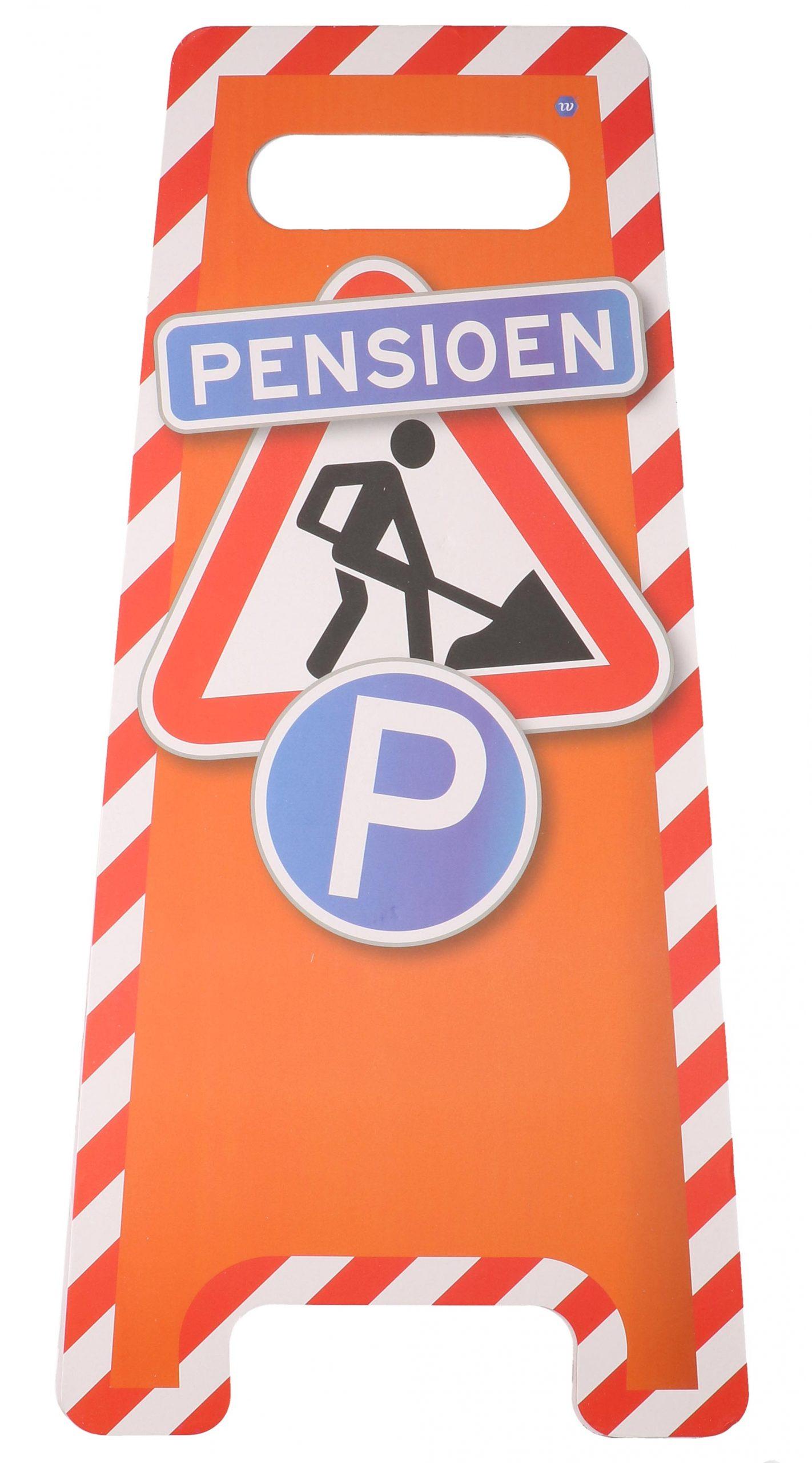 Pensioen vloerbord