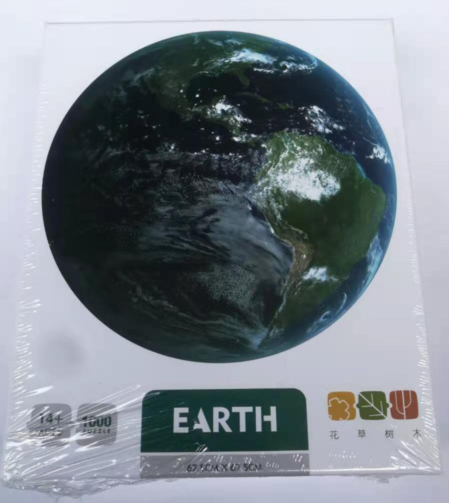 Puzzel earth