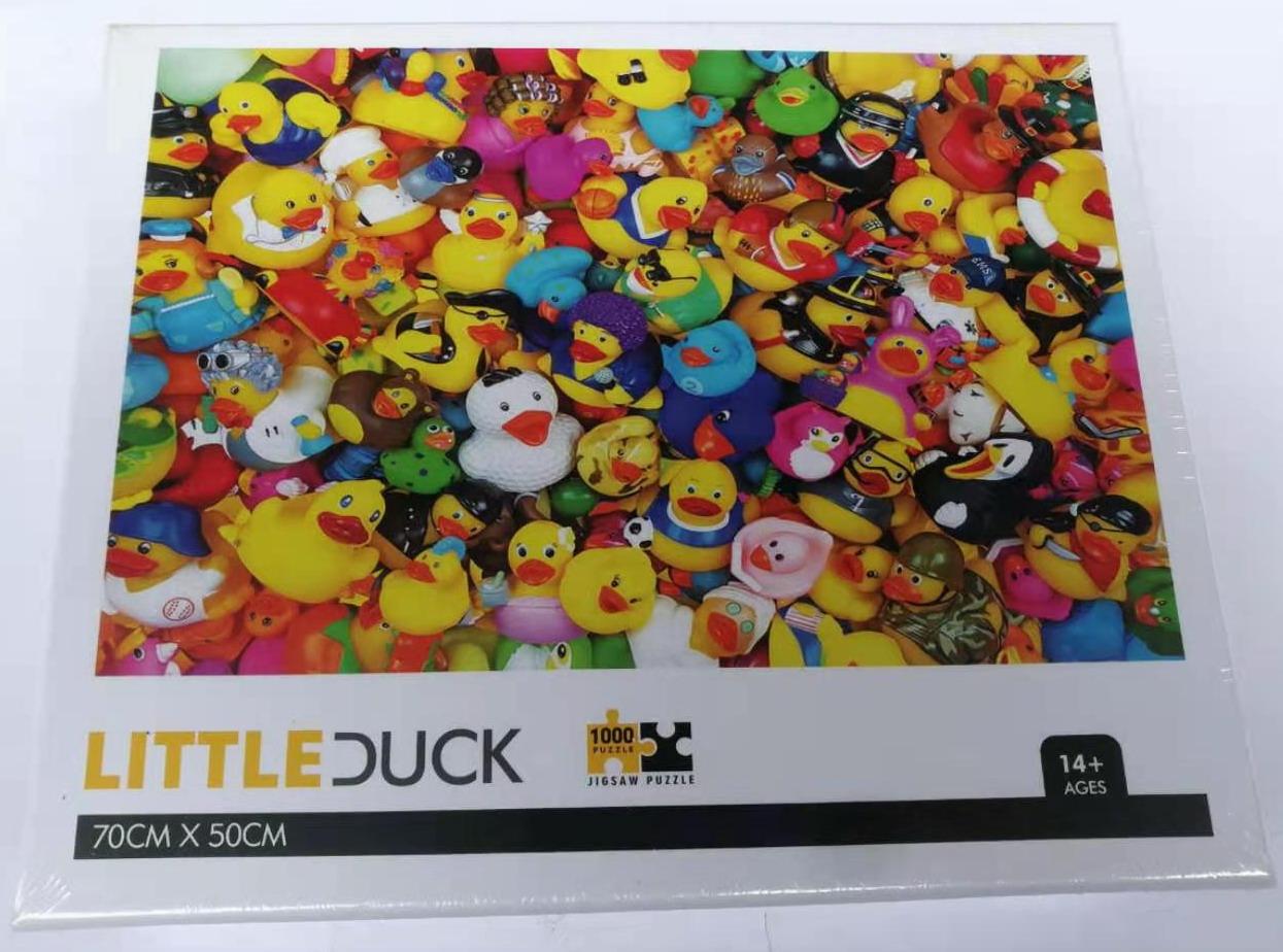 Puzzel little duck