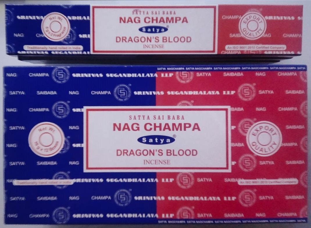 Satya Nag Champa & Dragons Blood 16gr