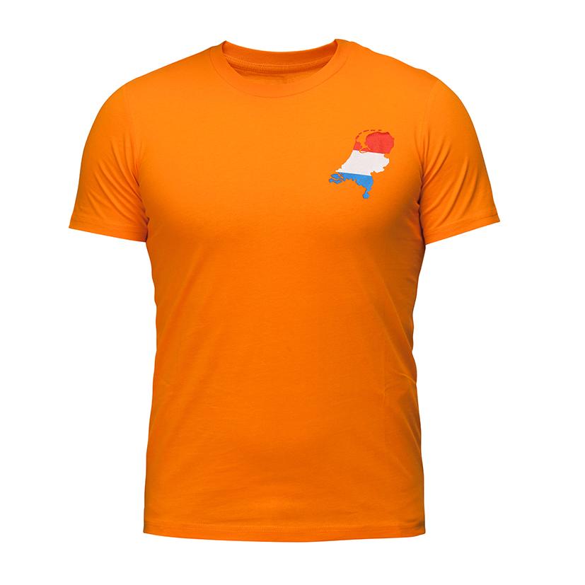 T-shirt oranje heren M