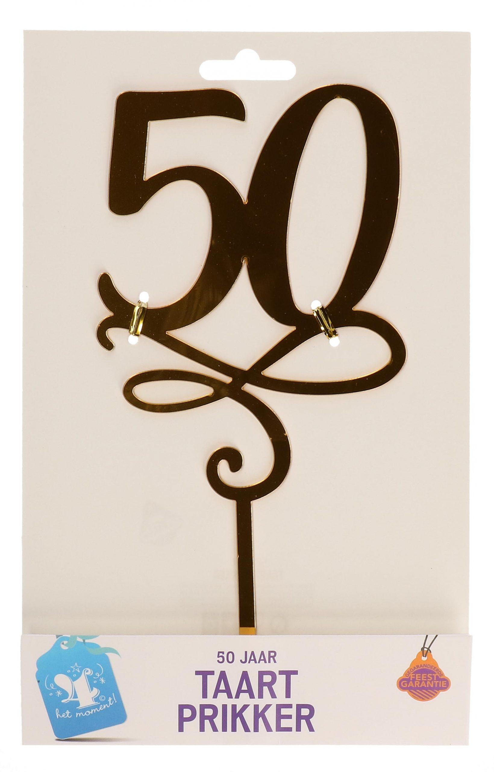 Taartprikker 50 jaar