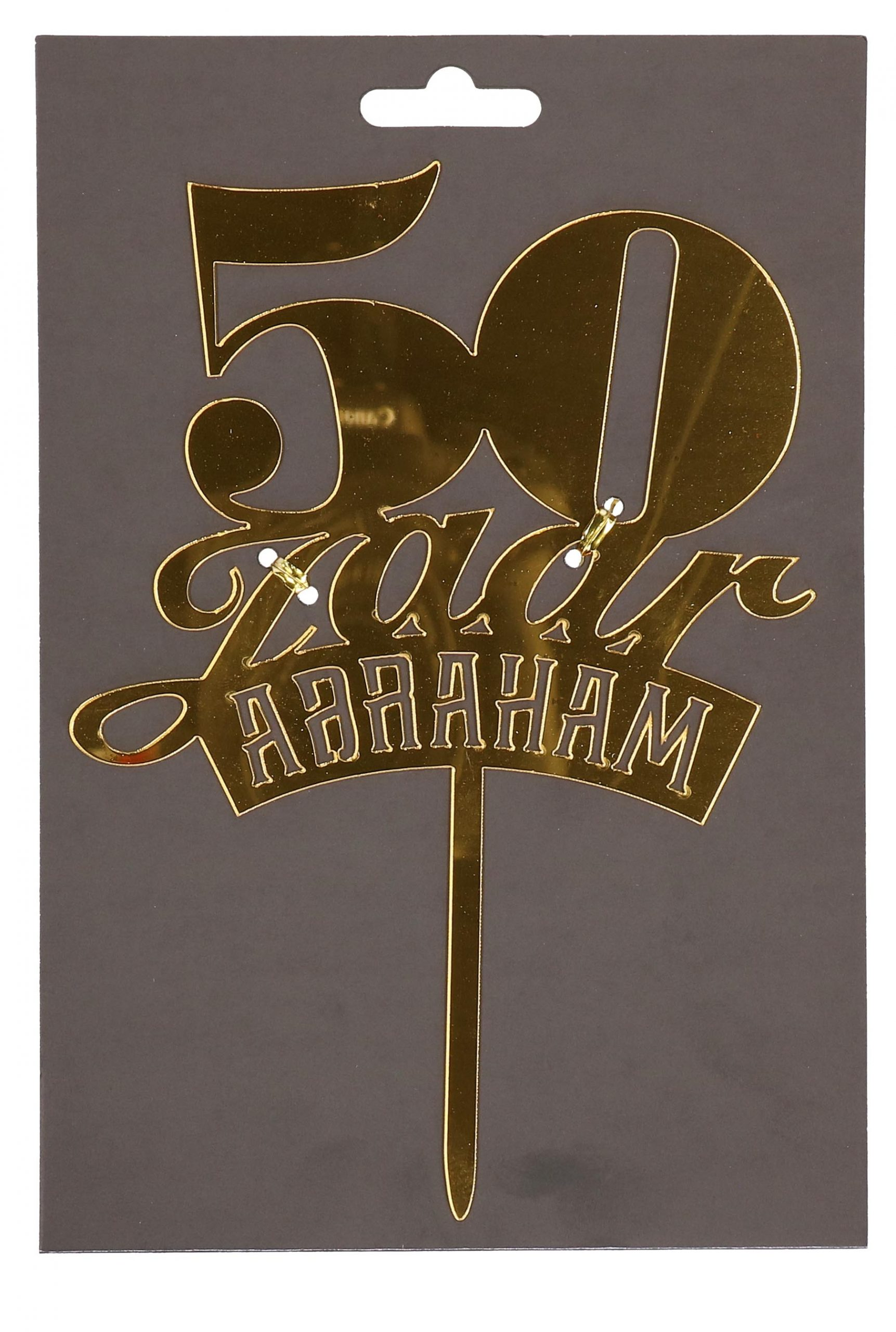 Taartprikker 50 jaar abraham