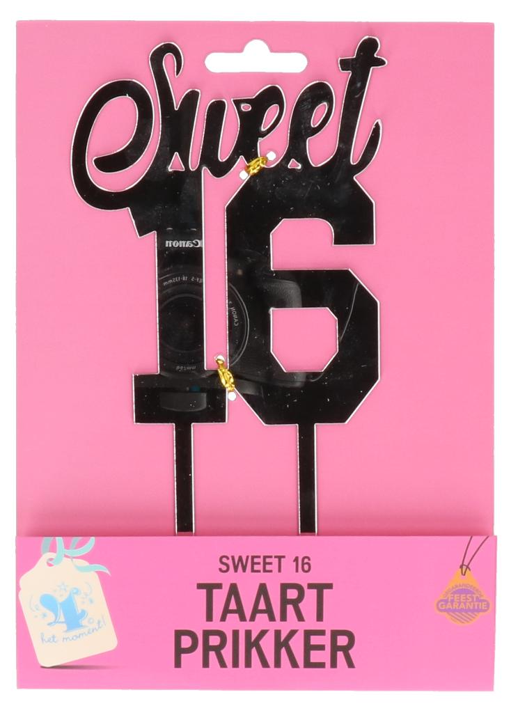Taartprikker sweet 16