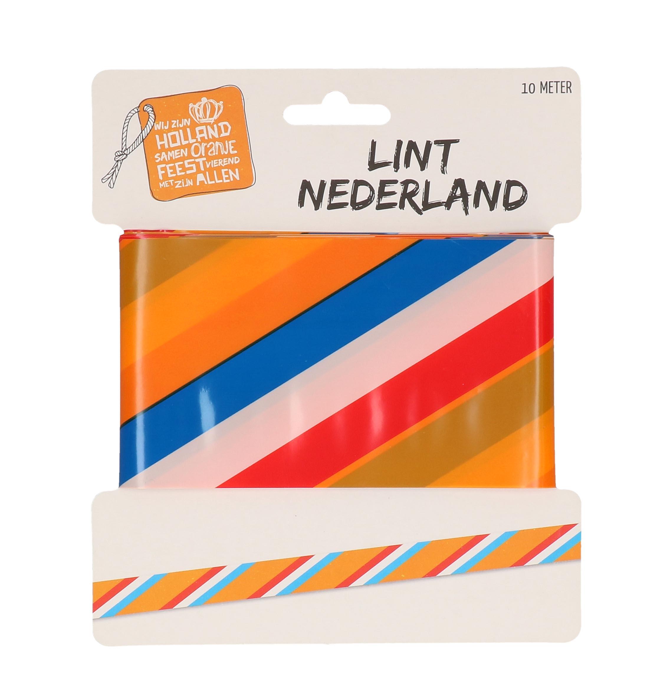 Afzetlint Nederland 10 meter