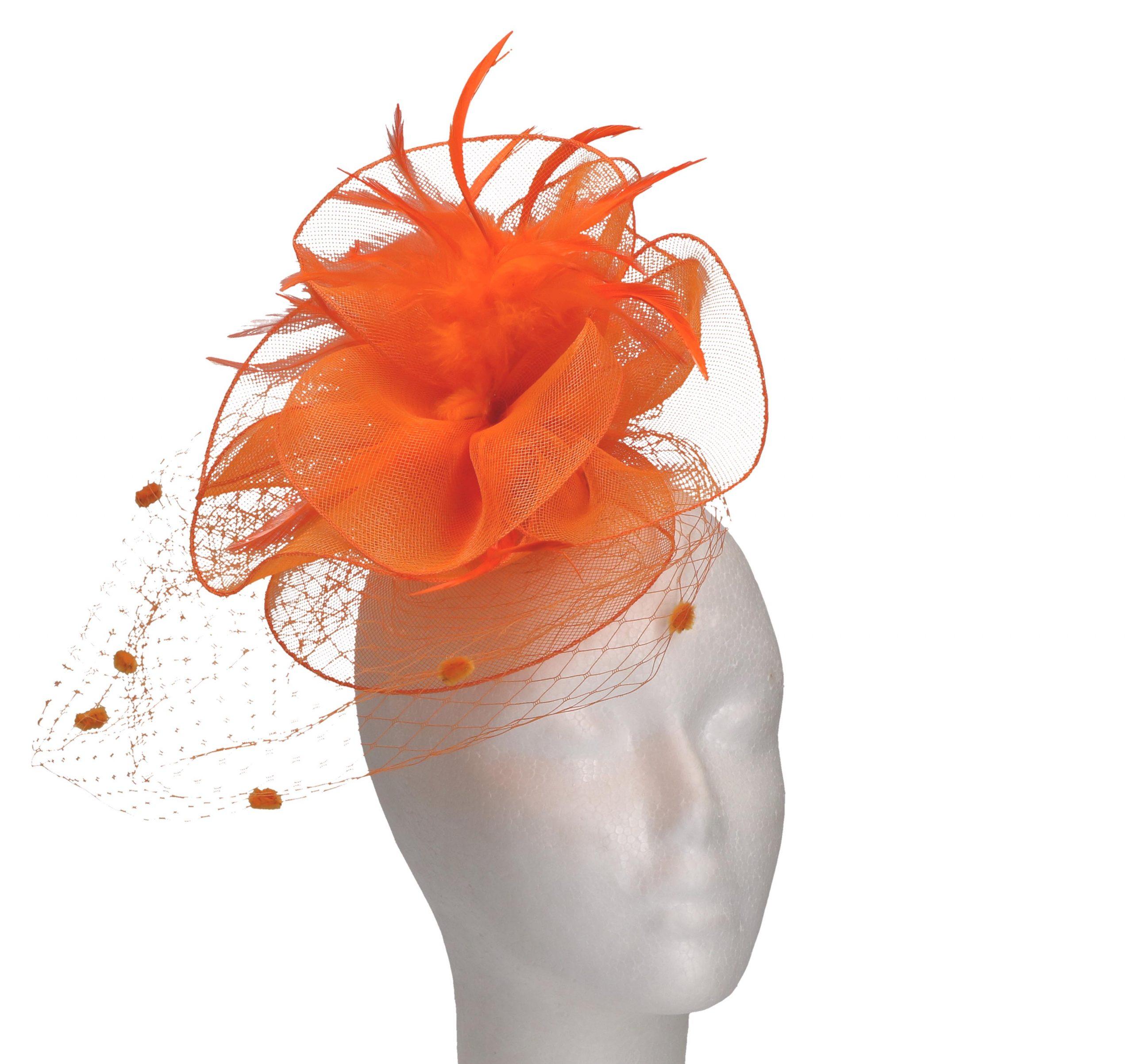 Haaraccessoire oranje