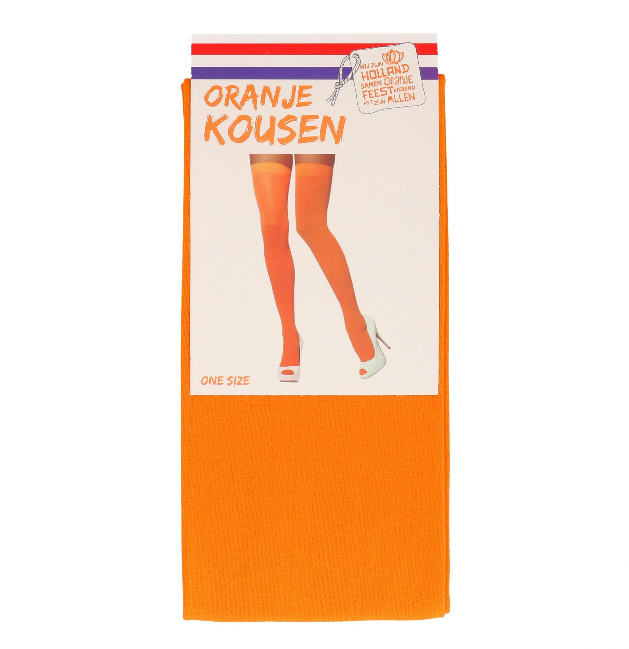 Kousen oranje