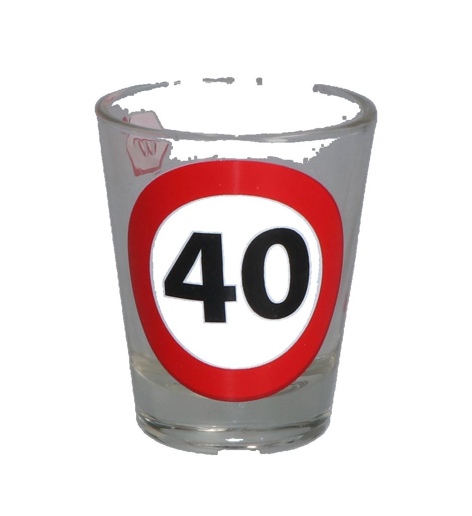 Shotglas 40