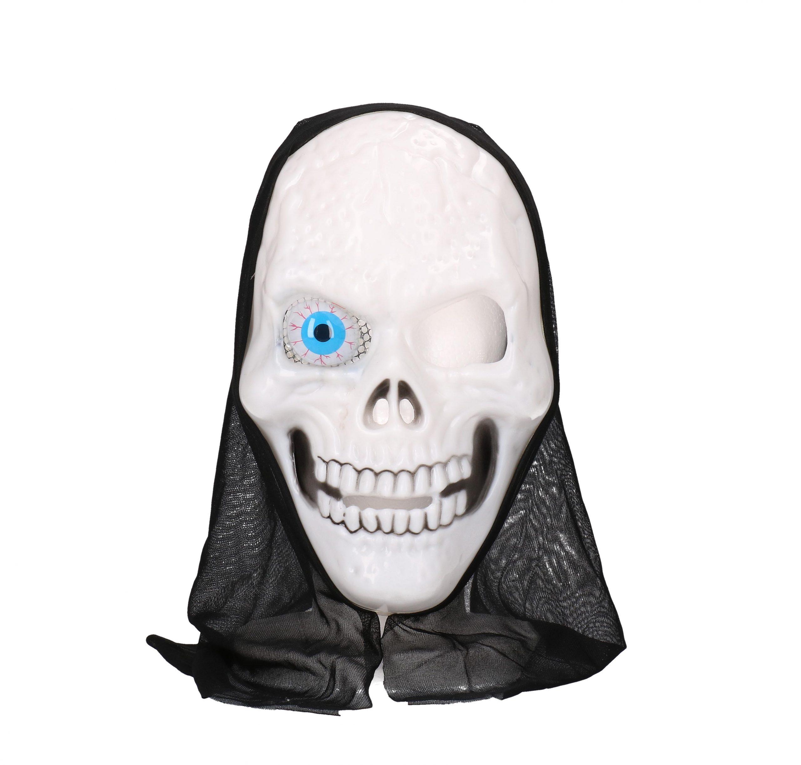 Halloween skull wit masker