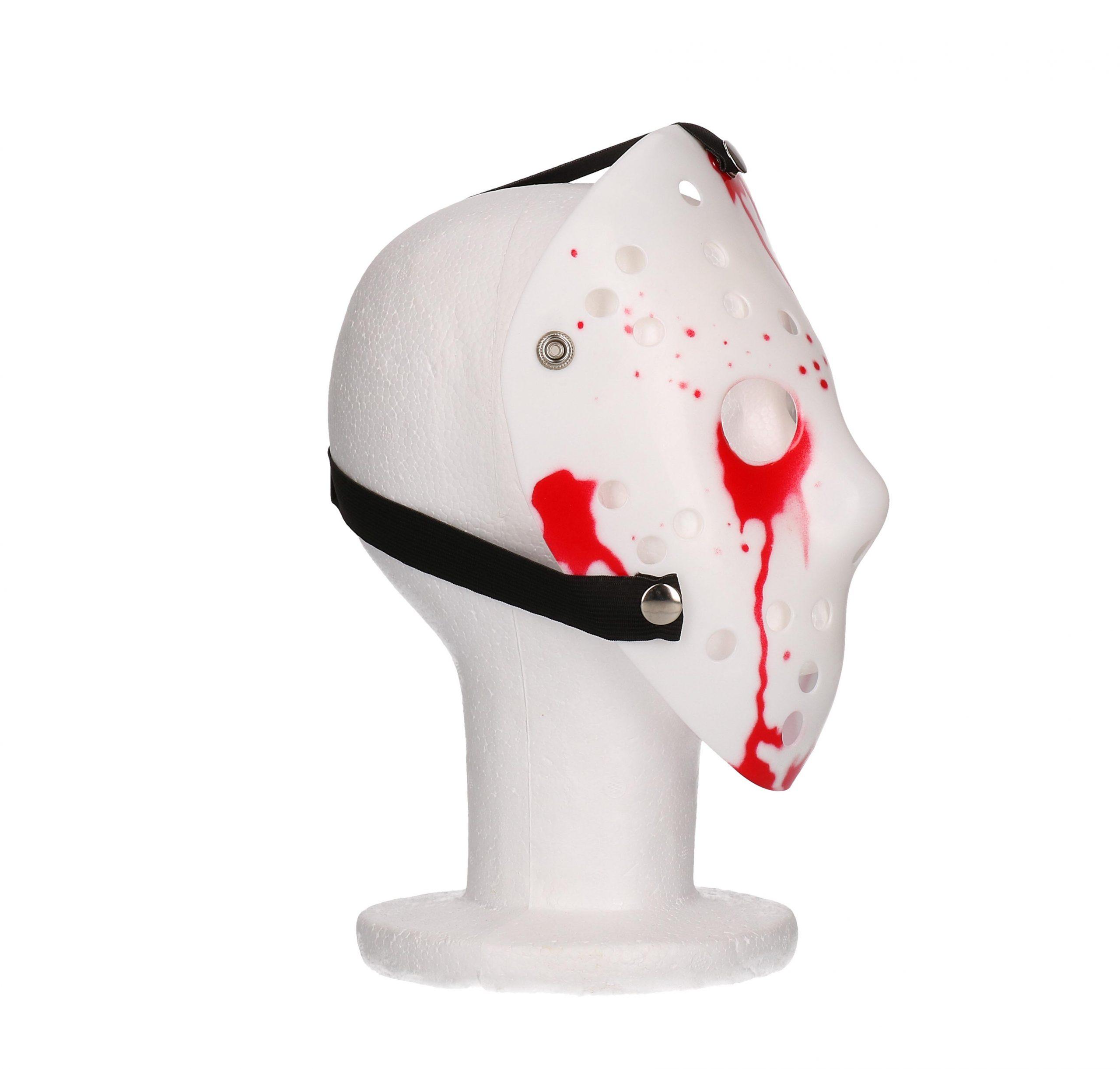 Hockey masker bloederige ogen