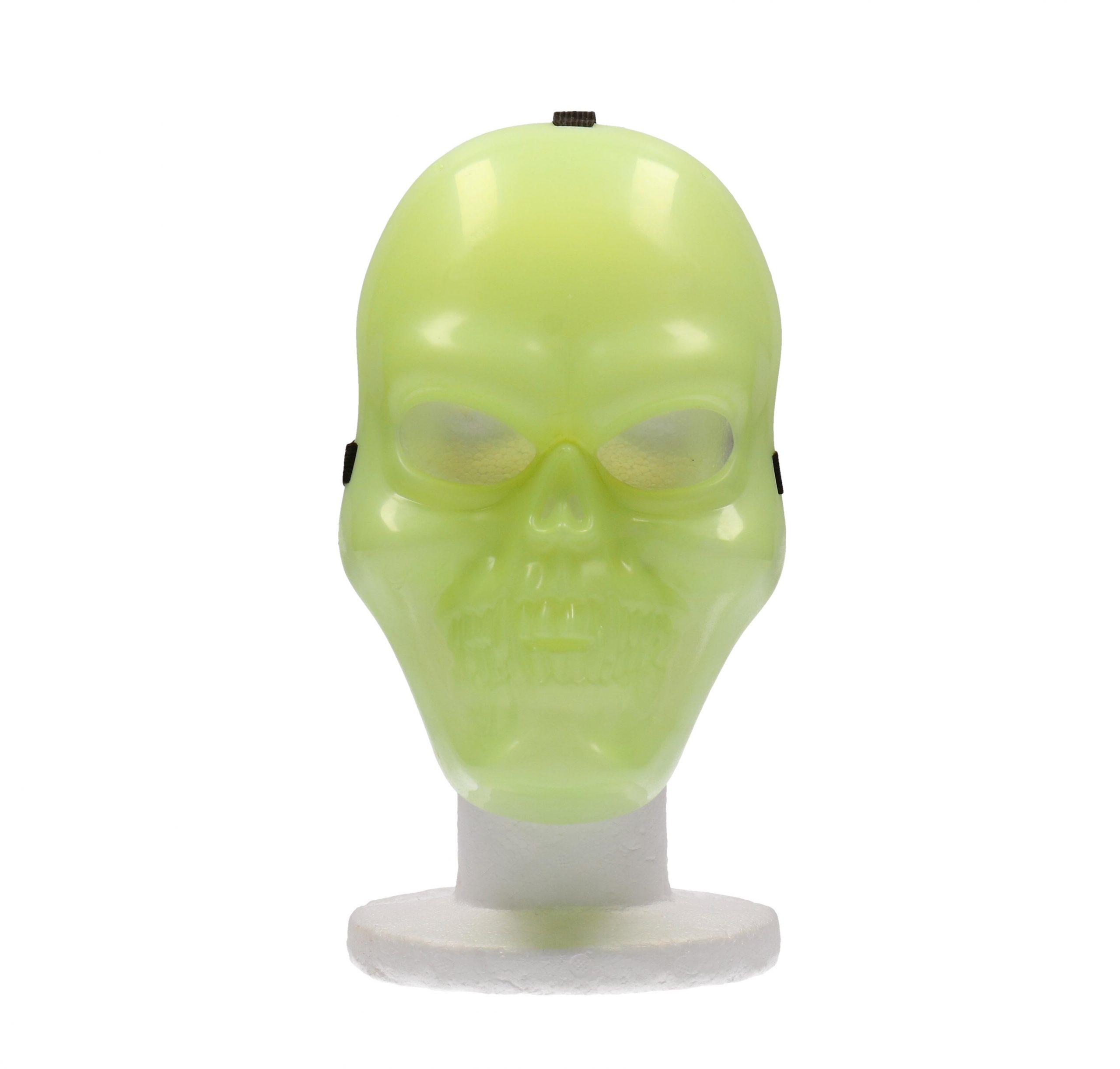 Masker schedel glow in the dark