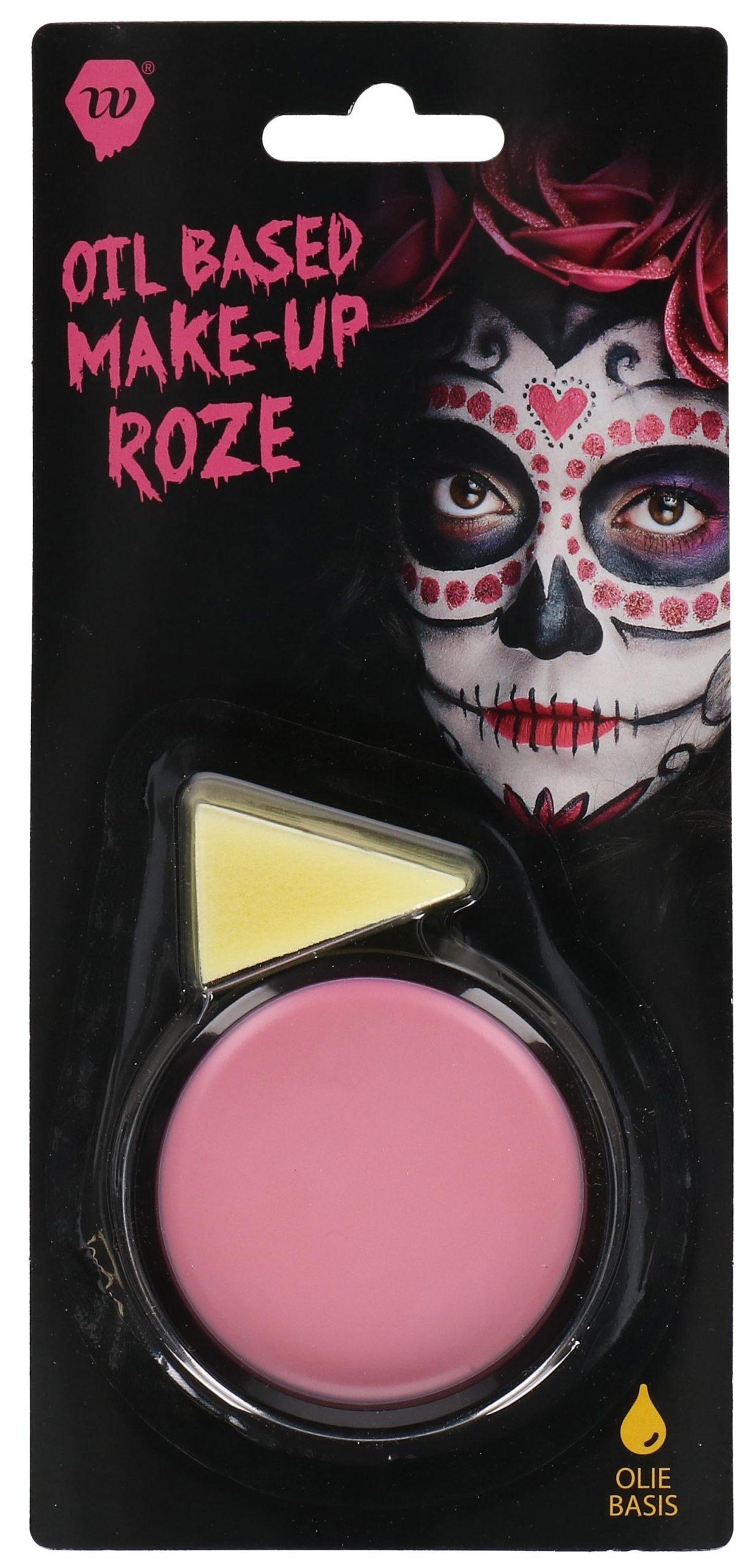 Oil-Based Make-up Roze Wauwfactor