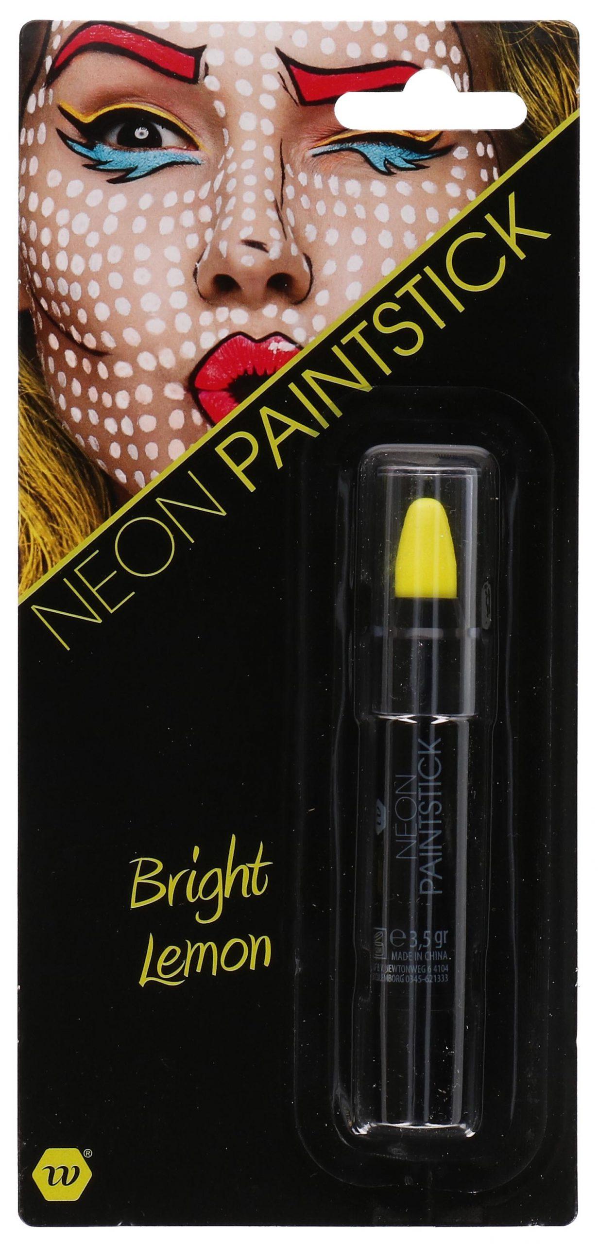 Paint stick neon geel 3,5gr