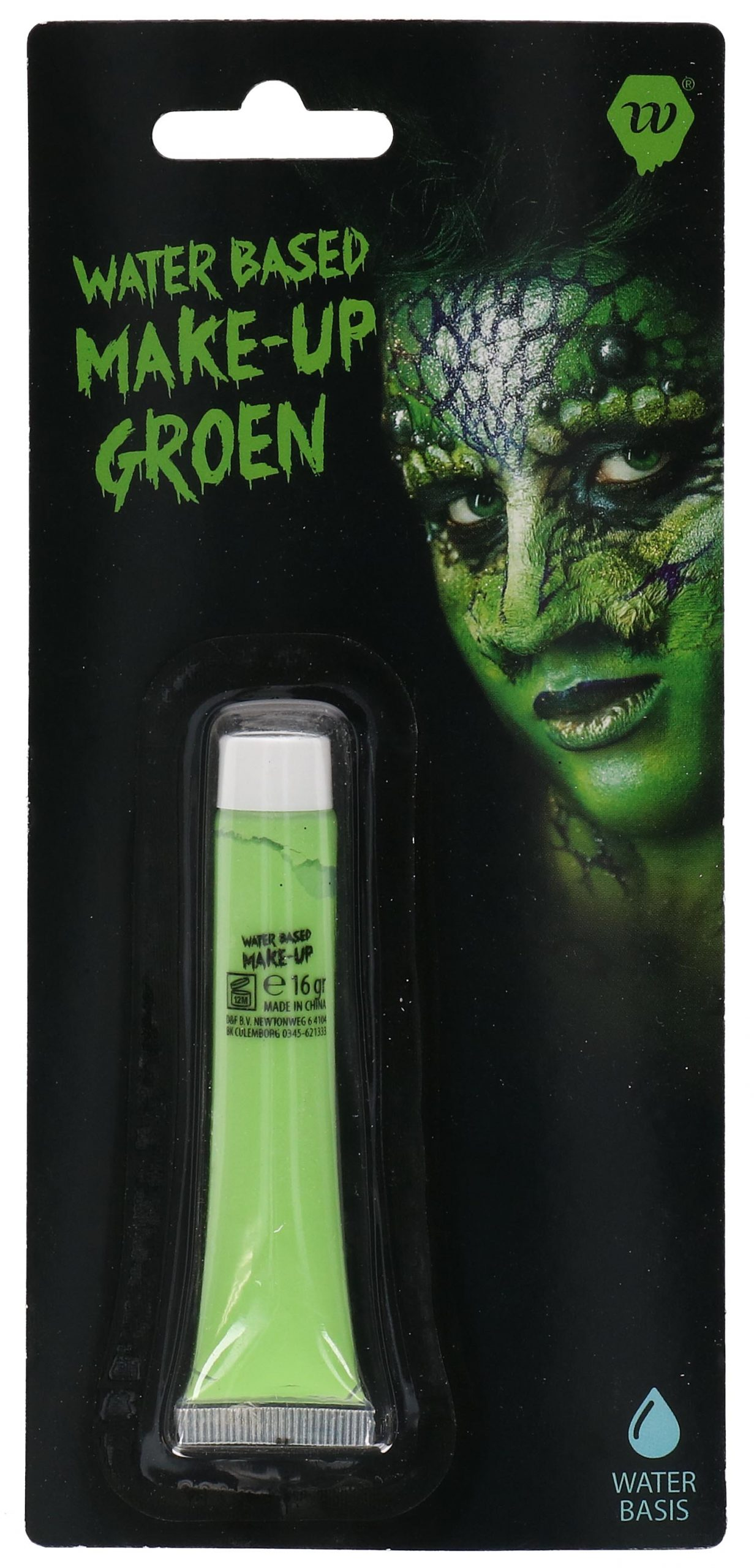 Water-Based Make-up Groen Wauwfactor