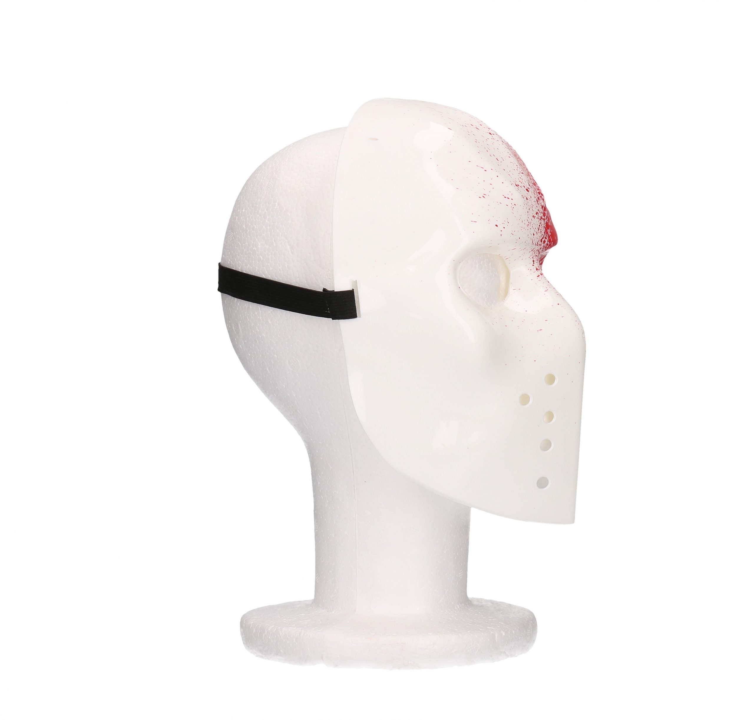 hockey masker met bloed