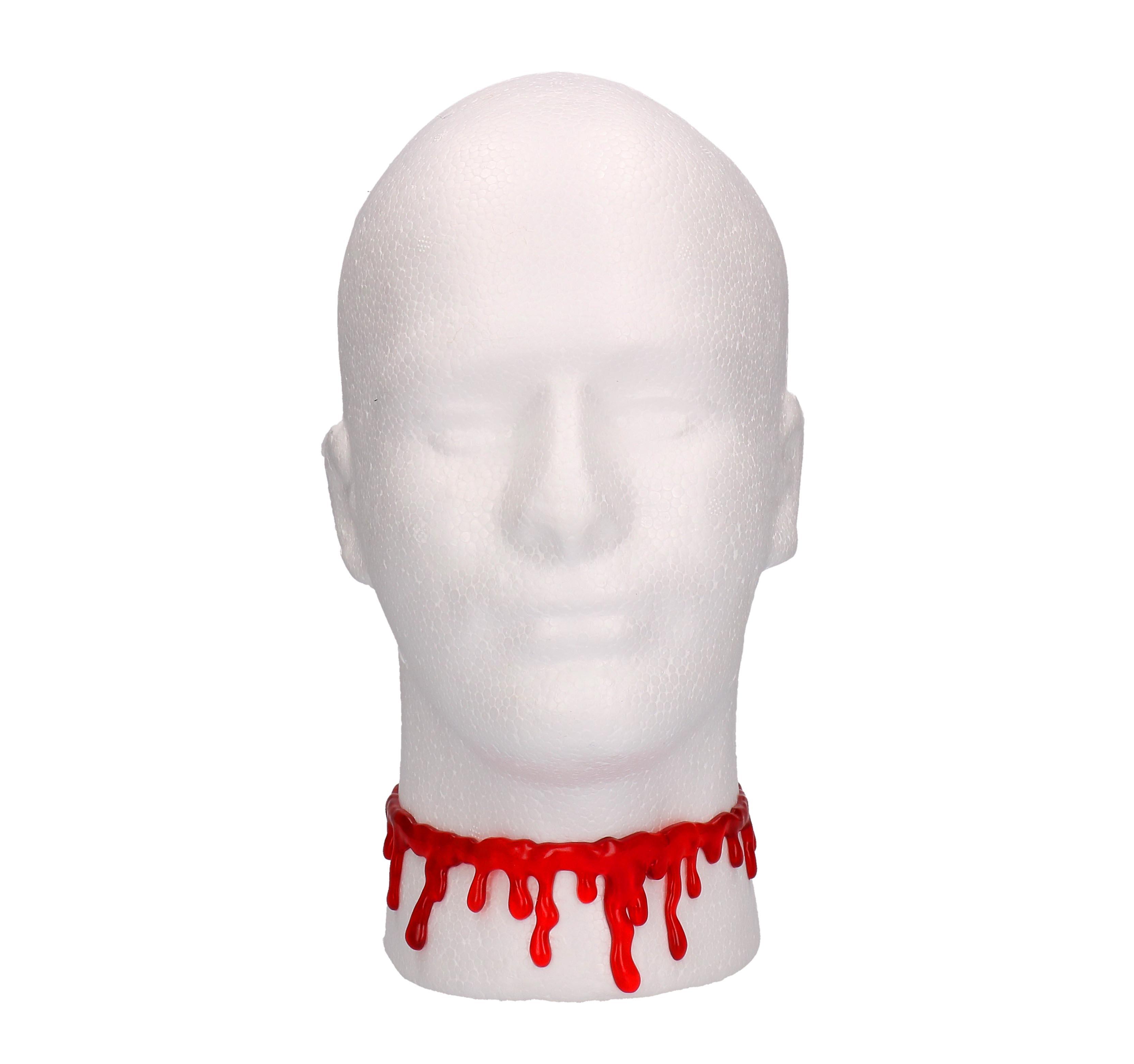 Halloween bloederige ketting
