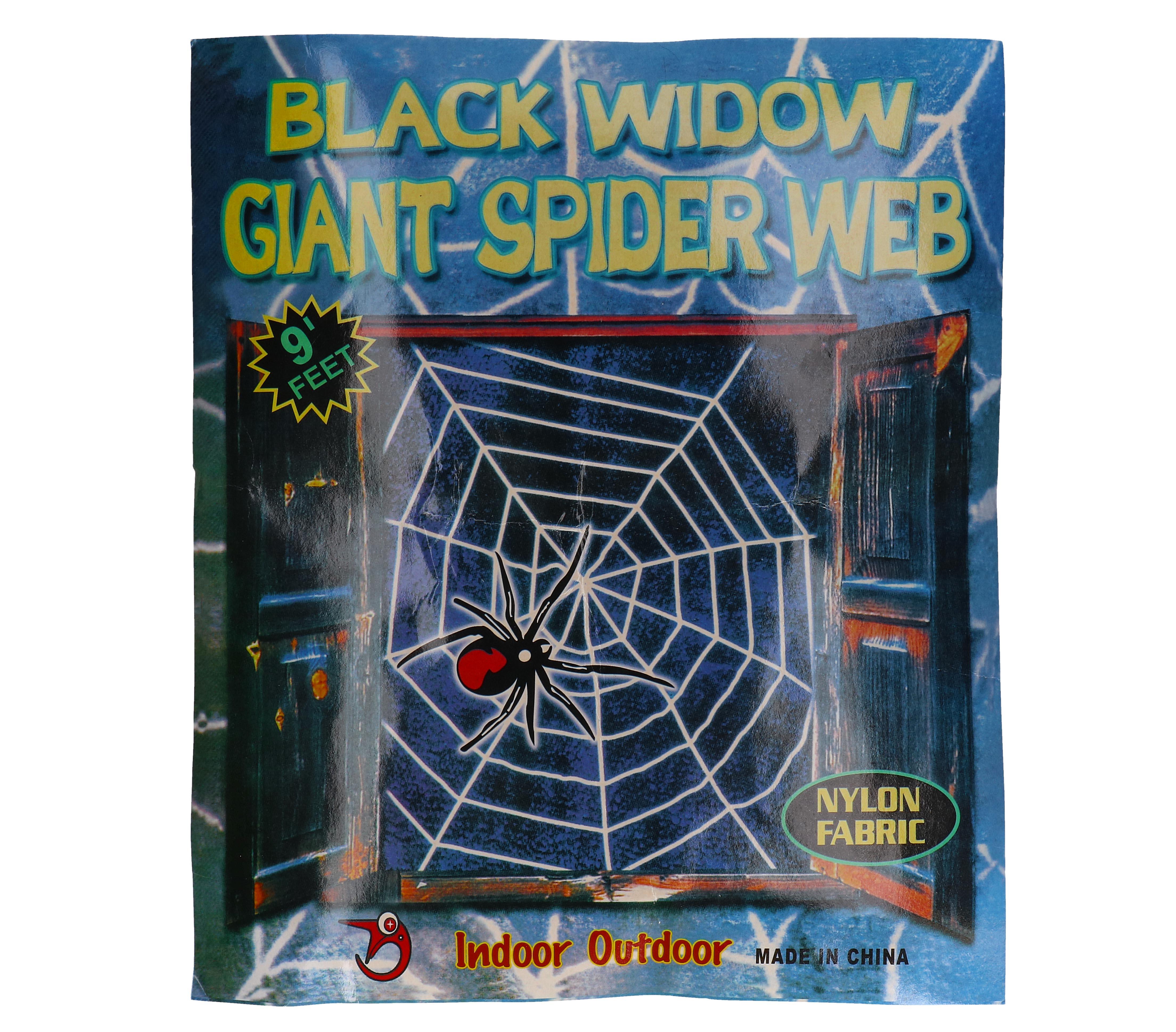 Mega spinnenweb 3 meter / 9 FT
