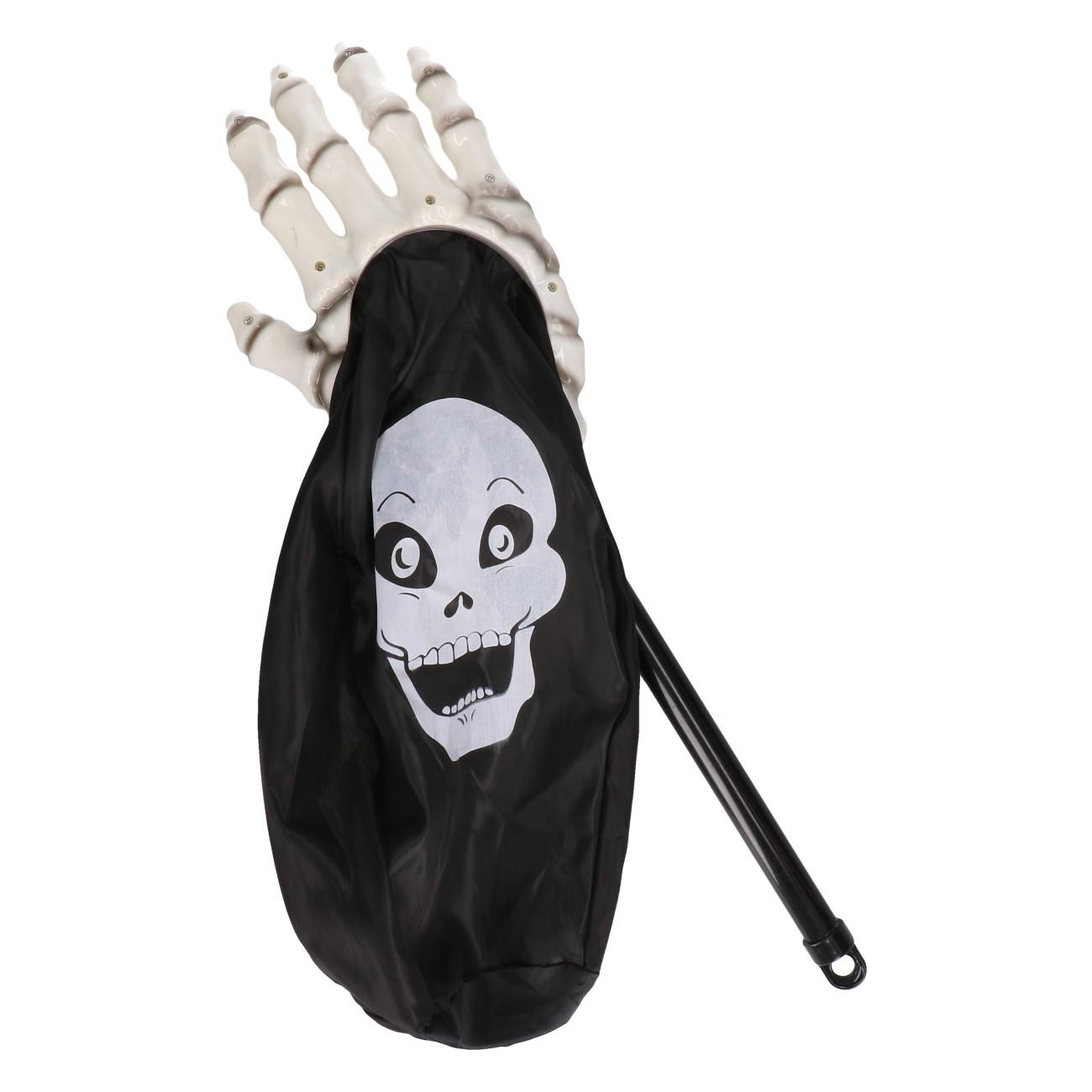 Trick or treat handje skelet