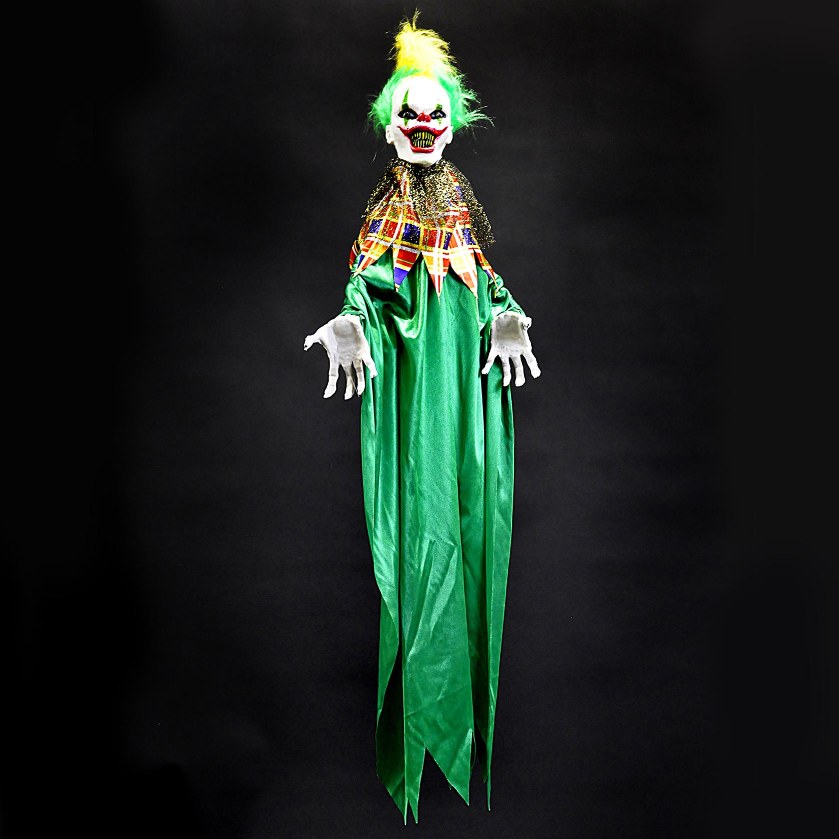 Halloween clown hangend